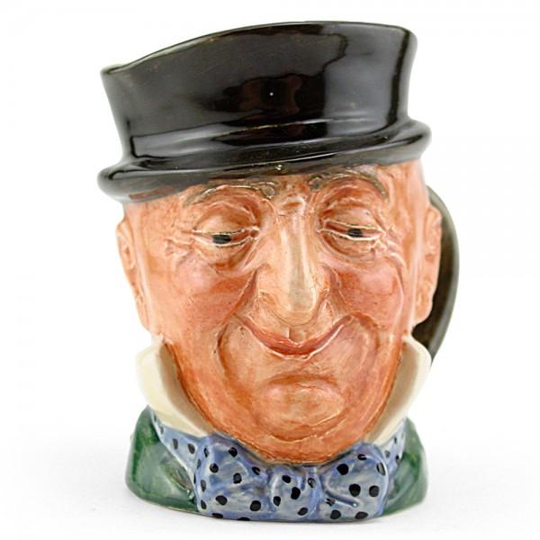 Mr. Micawber D5843 - Small - Royal Doulton Character Jug