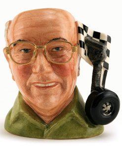 Murray Walker O.B.E. D7094 - Small - Royal Doulton Character Jug