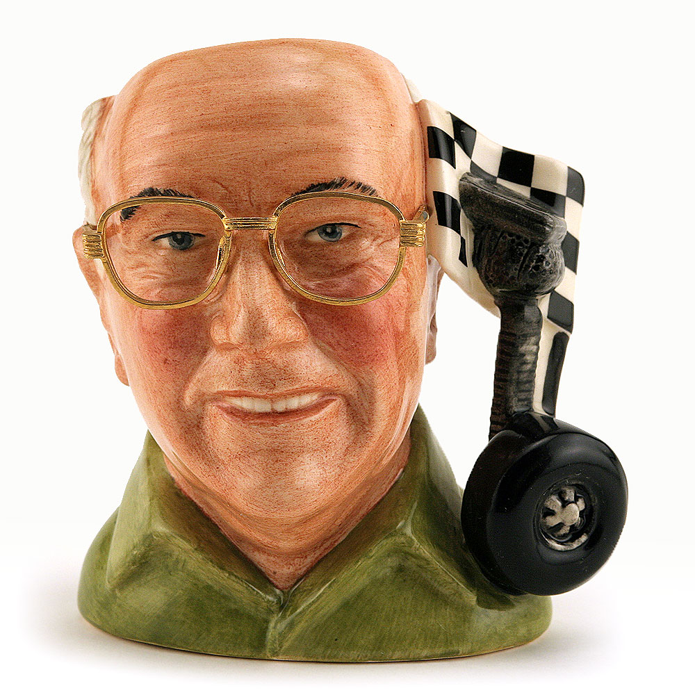 Murray Walker O.B.E. D7094 - Small - Royal Doulton Character Jug