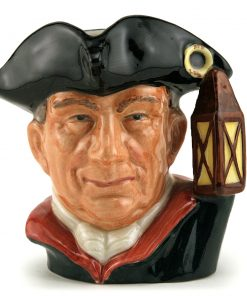 Night Watchman D6576 (Bone China) - Small - Royal Doulton Character Jug