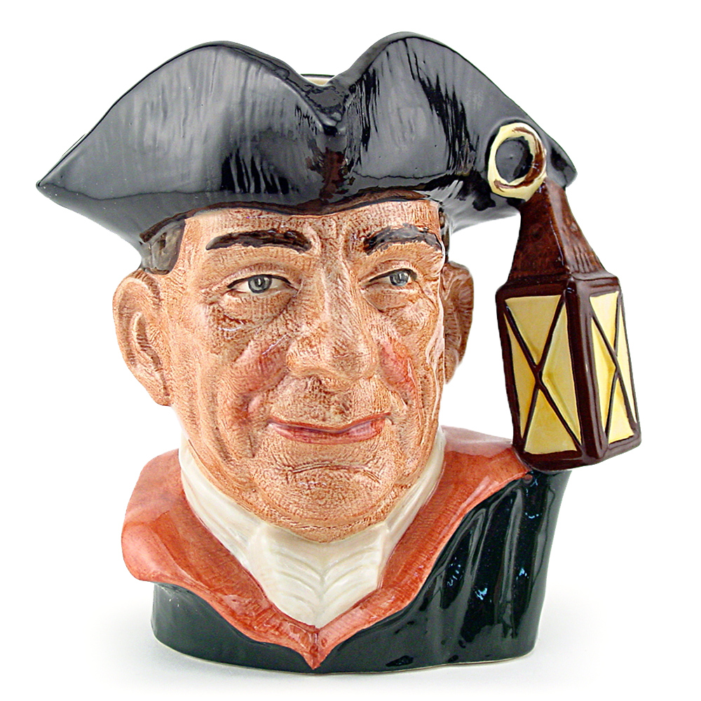 Night Watchman D6576 - Small - Royal Doulton Character Jug