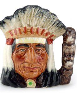 North American Indian D6614 - Small - Royal Doulton Character Jug