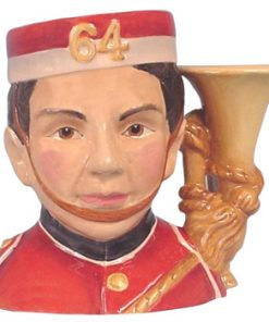 North Staffordshire Bugler D7213 - Small - Royal Doulton Character Jug