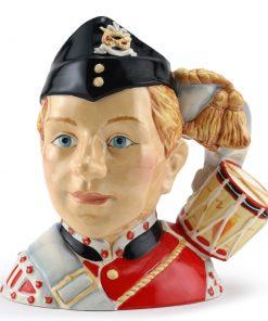 North Staffordshire Drummer Boy D7211 - Small - Royal Doulton Character Jug