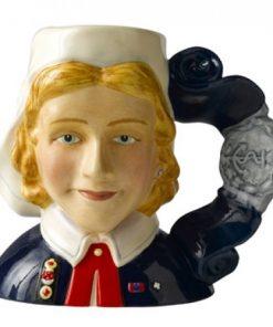 Nurse D7216 - Small - Royal Doulton Character Jug