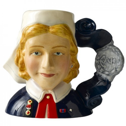 Nurse D7216 - Small - Royal Doulton Character Jug
