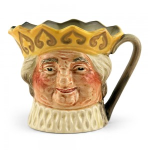 Old King Cole D6037 (Yellow Crown) - Small - Royal Doulton Character Jug