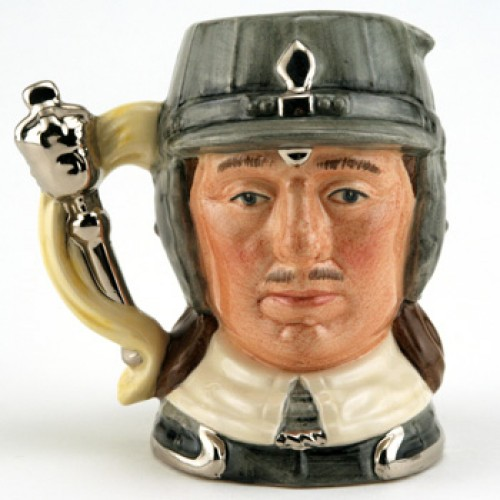 Oliver Cromwell D6986 - Small - Royal Doulton Character Jug