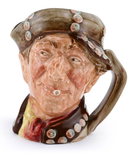 Pearly Boy (Brown with Pearl Buttons) - Royal Doulton Character Jug