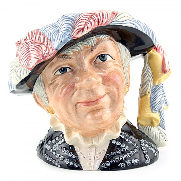 Pearly Queen D6843 - Small - Royal Doulton Character Jug
