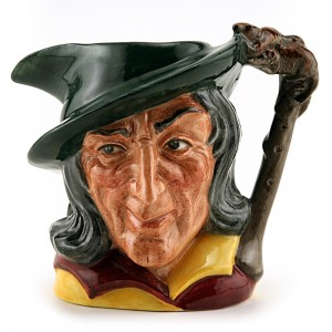 Pied Piper D6462 (Bone China) - Small - Royal Doulton Character Jug