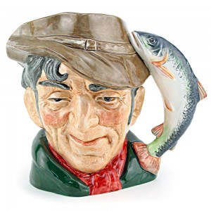 Poacher D6464 - Small - Royal Doulton Character Jug