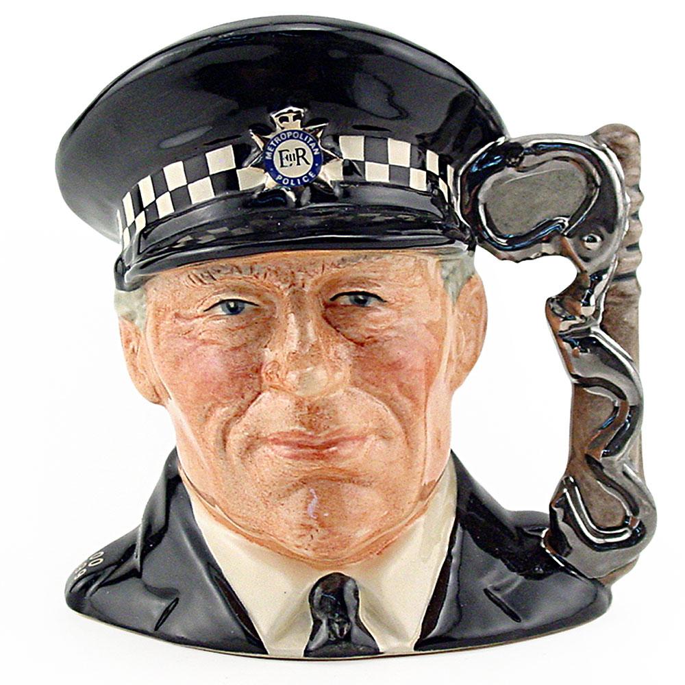 Policeman D6852 - Small - Royal Doulton Character Jug