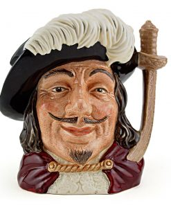 Porthos D6453 - Small - Royal Doulton Character Jug