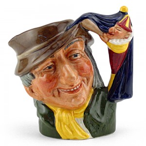 Punch and Judy Man D6593 - Small - Royal Doulton Character Jug