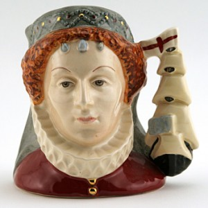 Queen Elizabeth I D6821 - Small - Royal Doulton Character Jug