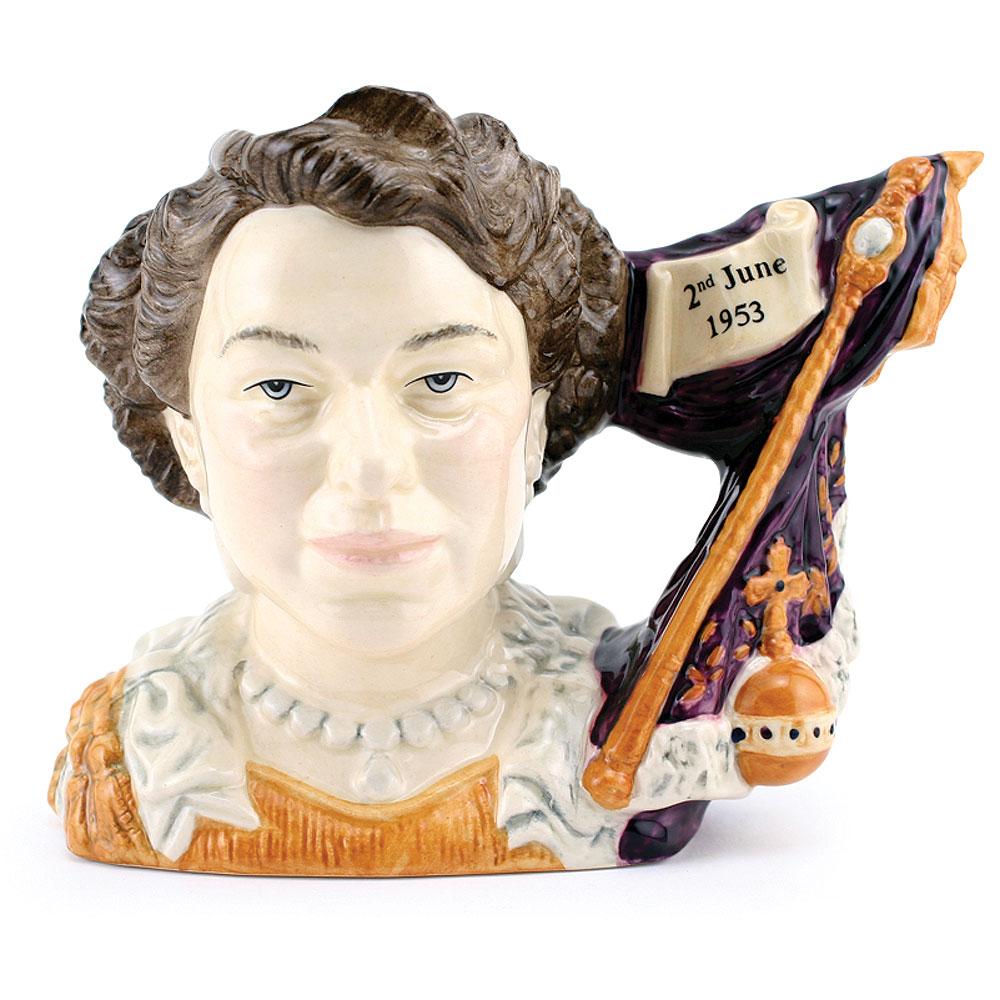 Queen Elizabeth II D7168 - Royal Doulton Character Jug