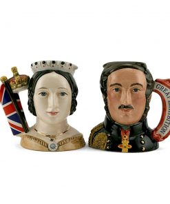 Queen Victoria & Prince Albert - Small - Royal Doulton Character Jug