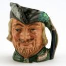 Robin Hood New D6534 (Bone China) - Small - Royal Doulton Character Jug