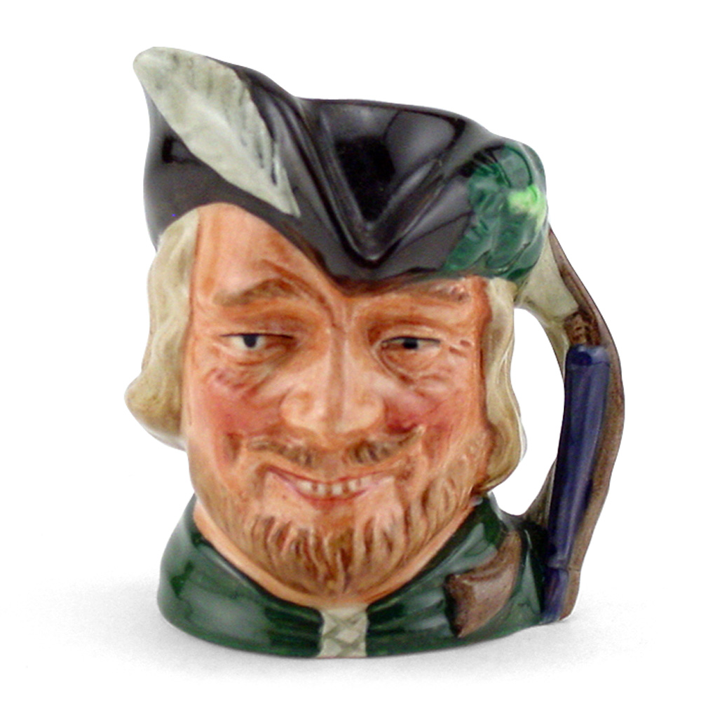 Robin Hood New D6534 - Small - Royal Doulton Character Jug