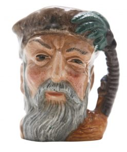 Robinson Crusoe (without footp D6539BC - Small - Royal Doulton Character Jug