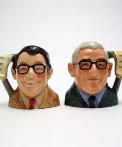 Ronnie Corbett and Ronnie Barker Pair D7113 & D7114 - Small - Royal Doulton Character Jug