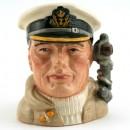 Sailor Anchor Handle D6984 - Small - Royal Doulton Character Jug