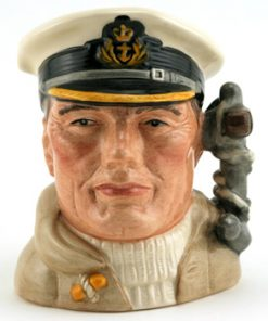 Sailor Anchor Handle D6984 - Small - Royal Doulton Character Jug
