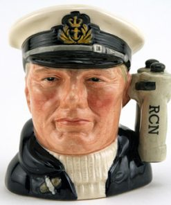 Sailor with R.C.N. D6904 (Binocular Handle) - Small - Royal Doulton Character Jug
