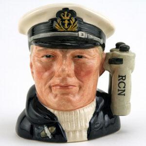 Sailor with R.C.N. D6904 (Binocular Handle) - Small - Royal Doulton Character Jug