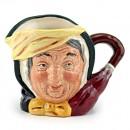 Sairey Gamp D6789 (Colorway) - Small - Royal Doulton Character Jug