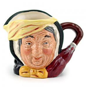 Sairey Gamp D6789 (Colorway) - Small - Royal Doulton Character Jug