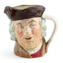 Sam Johnson D6296 - Small - Royal Doulton Character Jug