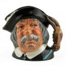 Sancho Panca D6461 (Bone China) - Small - Royal Doulton Character Jug