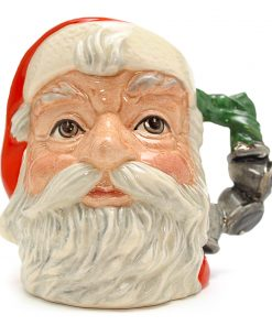 Santa Claus D6964 (Bell Handle) - Small - Royal Doulton Character Jug