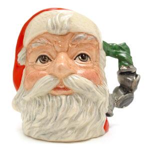 Santa Claus D6964 (Bell Handle) - Small - Royal Doulton Character Jug