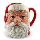 Santa Claus (Plain Handle) D6705 - Small - Royal Doulton Character Jug