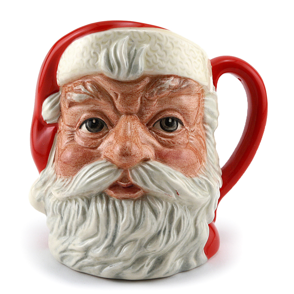 Santa Claus (Plain Handle) D6705 - Small - Royal Doulton Character Jug