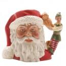 Santa with Elf D7243 - Small - Royal Doulton Character Jug