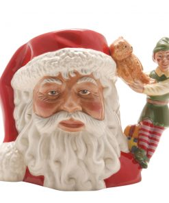 Santa with Elf D7243 - Small - Royal Doulton Character Jug