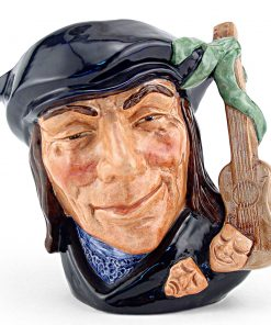 Scaramouche Old D6561 - Small - Royal Doulton Character Jug