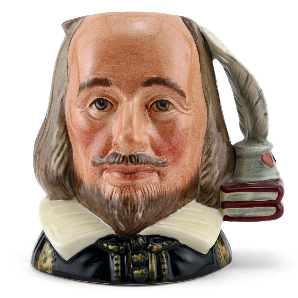 Shakespeare D6938 - Small - Royal Doulton Character Jug