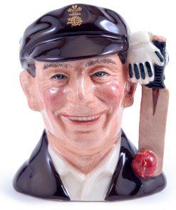 Sir Jack Hobbs D7131 - Small - Royal Doulton Character Jug