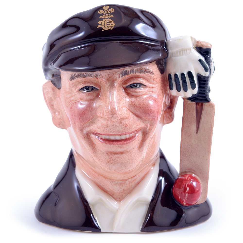 Sir Jack Hobbs D7131 - Small - Royal Doulton Character Jug