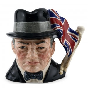 Sir Winston Churchill D6849 - Small - Royal Doulton Character Jug