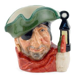 Smuggler D6619 - Small - Royal Doulton Character Jug