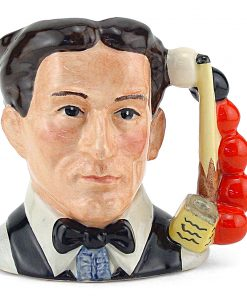 Snooker Player D6879 - Small - Royal Doulton Character Jug