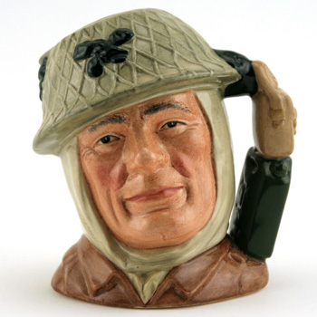 Soldier D6983 (Jerry Can and Haversack Handle) - Small - Royal Doulton Character Jug
