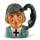 St. George D6621 (Bone China) - Small - Royal Doulton Character Jug