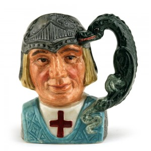St. George D6621 (Bone China) - Small - Royal Doulton Character Jug